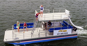 pontoon-with-slide-rental
