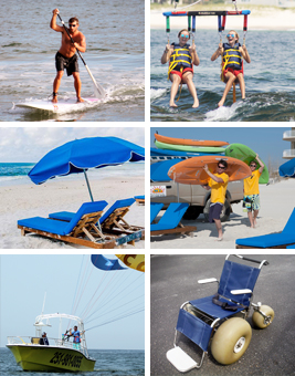 Perdido Key Parasailing - ikes parasail